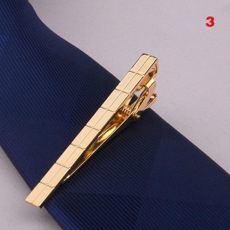 HOT Men Metal Alloy Tie Clip Clamp Necktie Bar Clasp Wedding Bridegroom Business Fashion Formal Gifts 19ING