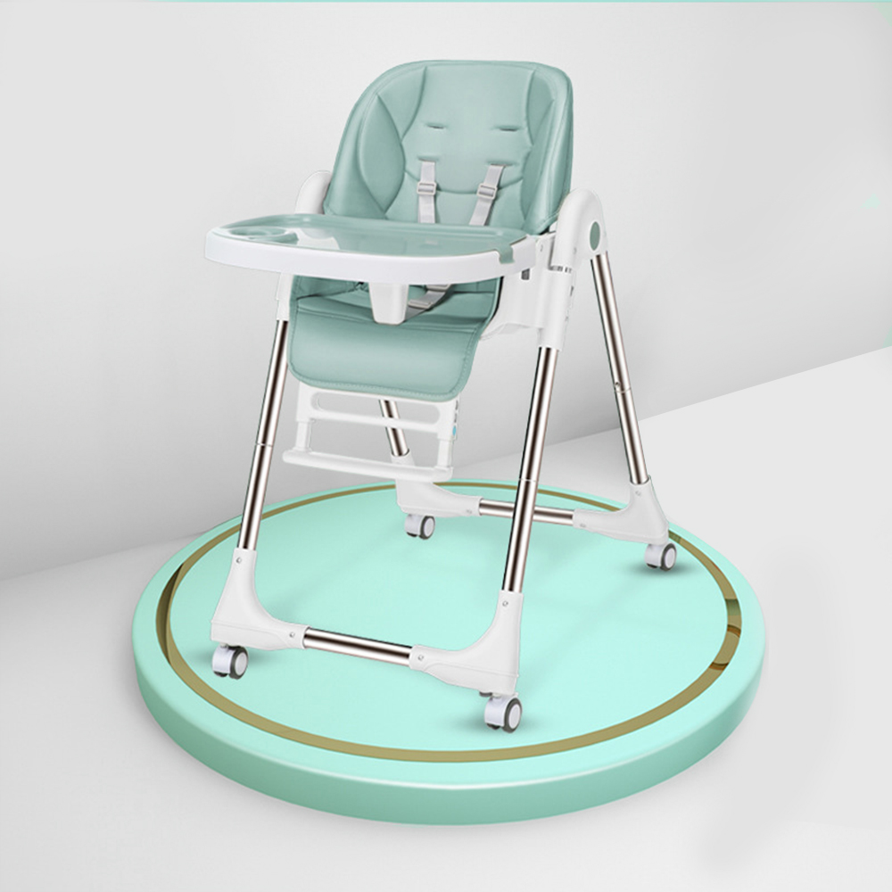 Portable High Chair For Feeding Adjustable Baby Chair Baby Seat Folding  Breastfeeding Booster Seat Children Dining Table Chairs