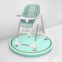 Tragbare Hohe Stuhl Für Fütterung Einstellbare Baby Stuhl Kindersitz Klapp Stillen Booster Sitz Kinder Esstisch Stühle-in Booster Sitze aus Mutter und Kind bei