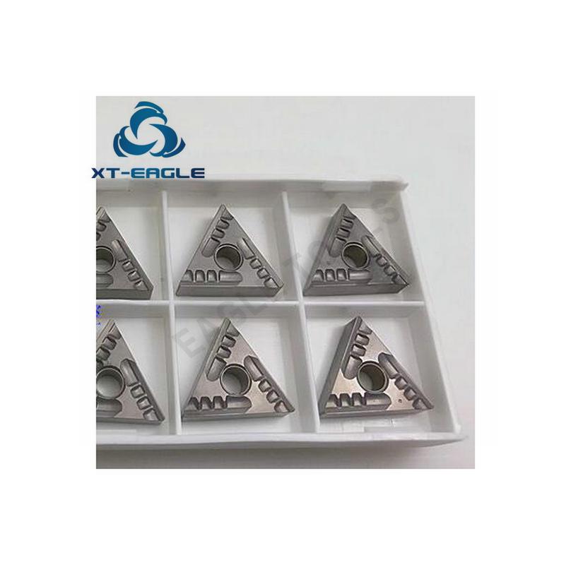 20PCS Strong chip breaker slot metal ceramic CNC blade TNMG160404R SF BN60 Free shipping