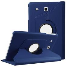 Tablet Cover Pu Leather for Samsung Galaxy Tab E 9.6 T560 T561 Folded Flip Stand Case for Tab E 9.6 SM T560 T561 Wake Up Sleep