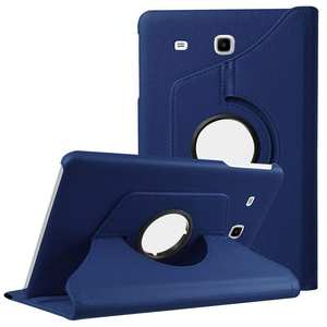 Cover for Samsung Galaxy Tab E 9.6 T560 T561 Tablet Pu Leather Folded Flip Stand