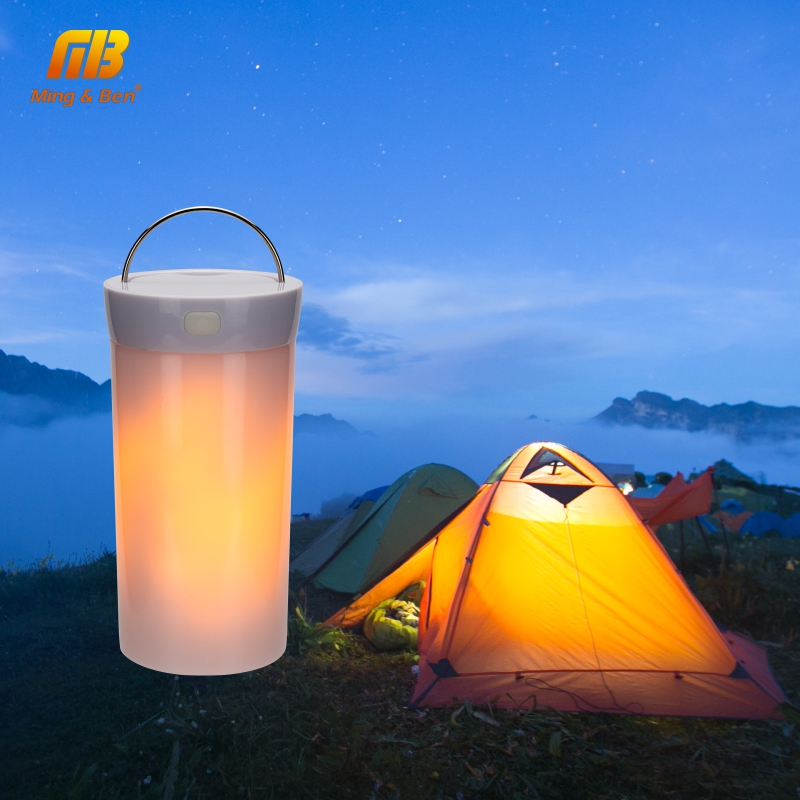 LED Fire Bulb DC 5V LED USB Flame Effect Fire Magnetic+Gravity Sensor Light For Decorative Square Camping Convenient Night Lamp