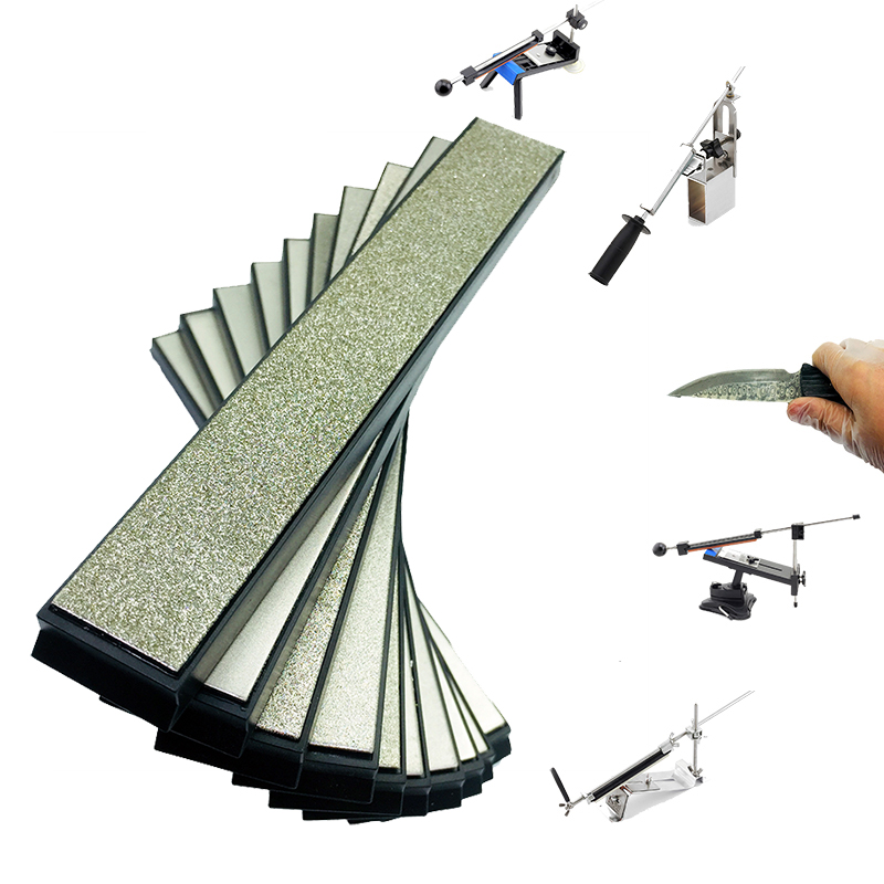 80-3000 Grit Kitchen Scissors Razors Knife Sharpener Diamond Whetstone Hone Whetstone Ruixin Pro EDGE Stone