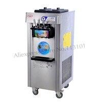 Street Food Soft Ice Cream Machine Upright Icecream Maker 220V Specs Digital Control For Ice cream Parlor Restaurants