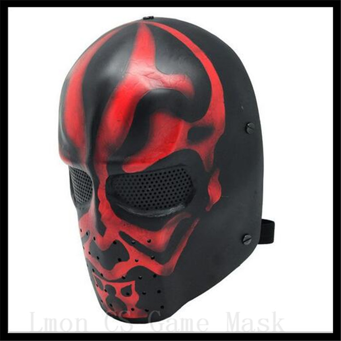 Tactical Skull Masks Resin New Adult Star Wars Deluxe Darth Maul Mask Movies Cosplay Horror CS Game Face Head Mask Helmet Toys