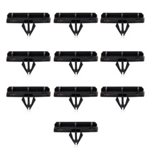 DWCX 10x Black Fender Flare Moulding Clips For Jeep Liberty Wrangler 2005-2007 2008 2009 2010 2011 2012 2013-2016 55157055AA
