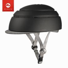 CLOSCA FUGA Folding Bicycle Helmet EPS+PC Ultralight Safe Road MTB Bike Helmet Women Men Portable City Leisure Cycling Equipment