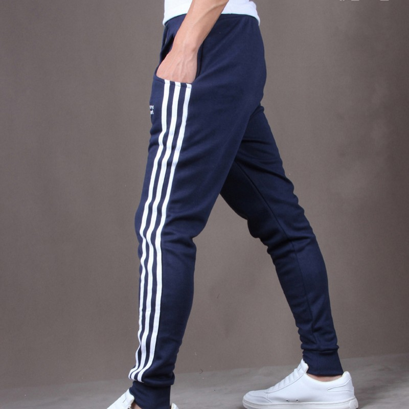 35d8ddb494df4 New Fashion Men Pants Leisure Slimming Korean Style Sport Pants Trouser  Drop Crotch Jogging Harem Pants Men Joggers Exercise-in Cross Pants from  Men's ...