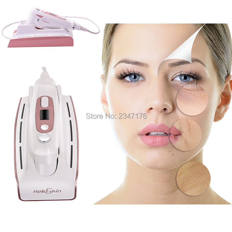 RF peau resserrement élimination des rides machine de levage de la peau ultrasons maison instrument de beauté dispositif de soins du visage levage outil de tatouage