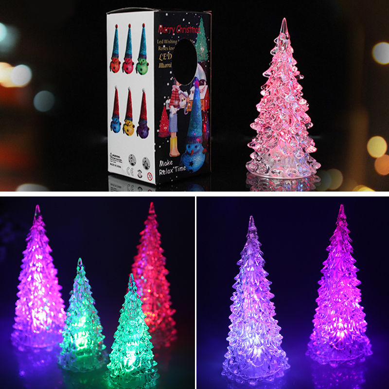 Christmas Tree Decorations Colorful Mini Led Light