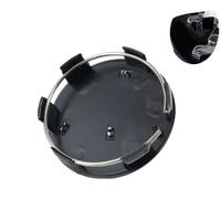 20pcs 60mm Black Wheel Center Hub Cap 60mm Wheel Center Covers Fit For Peugeot Emblem Badge