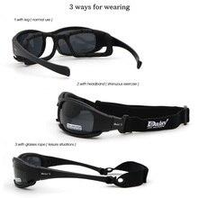 62c51da119 Daisy X7 Military Goggles Bullet-proof Army Polarized Sunglasses 4 Lens  Hunting Shooting Airsoft Eyewear