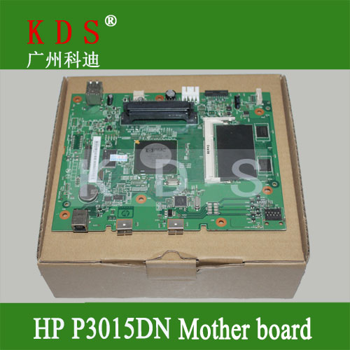 ФОТО Original Laser Printer Parts Main PCB Assy for HP P3015DN Formatter Board CE475-60001 Logic Board Remove from New Machine