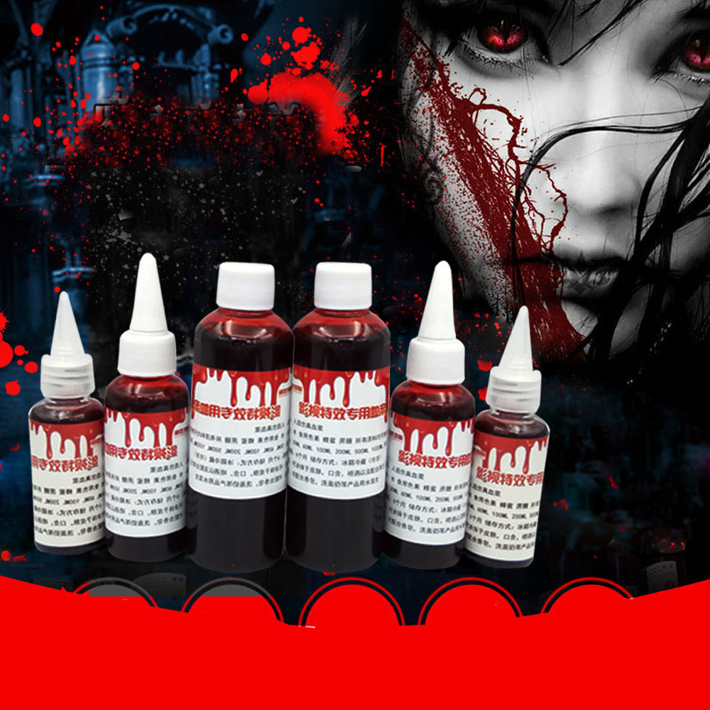 US $1.76 31% OFF|Halloween Cos Ultra realistic Fake Blood simulation Human Vampire Human Hematopoietic Props Vomiting Pulp Party Cos Supplyies-in Body Paint from Beauty & Health on Aliexpress.com | Alibaba Group