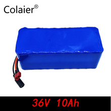 Colaier 36V 10AH bike electric car battery scooter high-capacity lithium