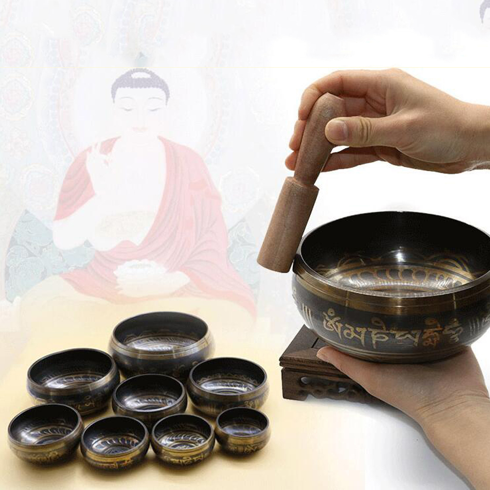Himalayan Hand Hammered Chakra Meditation Handmade Bowl Decorative-wall-dishes Yoga Tibetan Buddhist Brass Singing Bowl Gu08Himalayan Hand Hammered Chakra Meditation Handmade Bowl Decorative-wall-dishes Yoga Tibetan Buddhist Brass Singing Bowl Gu08