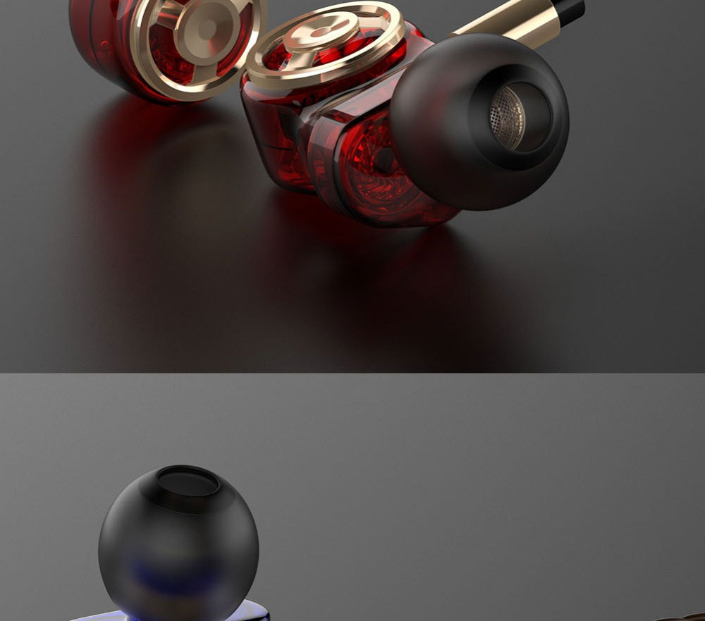 ouvido estéreo fones de ouvido do telefone