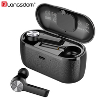 Langsdom T10 TWS Wireless Earphones True Wireless Earbuds with Dual Mic Touch Control Stereo Sport Bluetooth Earphone for Phone