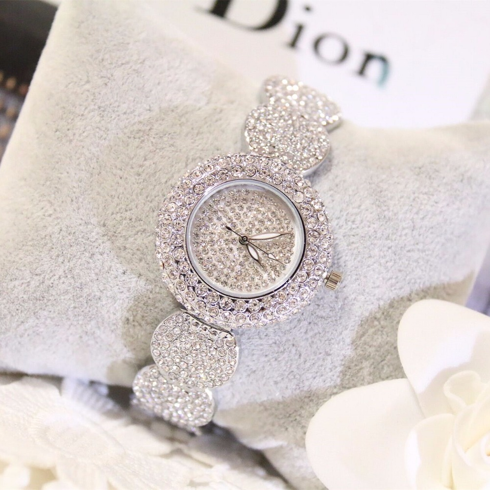 2019 Super Slim Full Rhinestone Watches Women Top Brand Luxury Casual Clock New Ladies Diamond Wrist Watch Lady Relogio Feminino