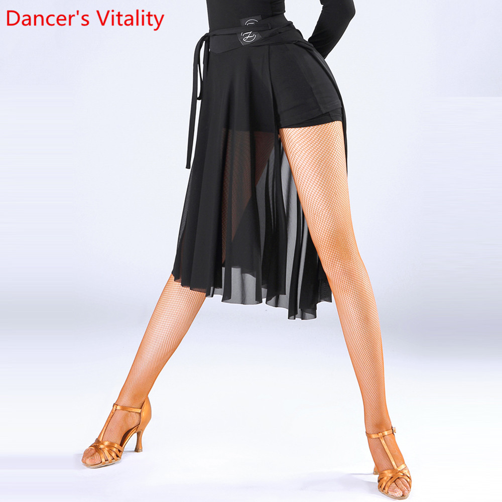 Women Of The Outer Panel Of Latin Dance For Sale Waltz Tango Ballroom Dance Skirts Sexy Practice Training Performance Wear