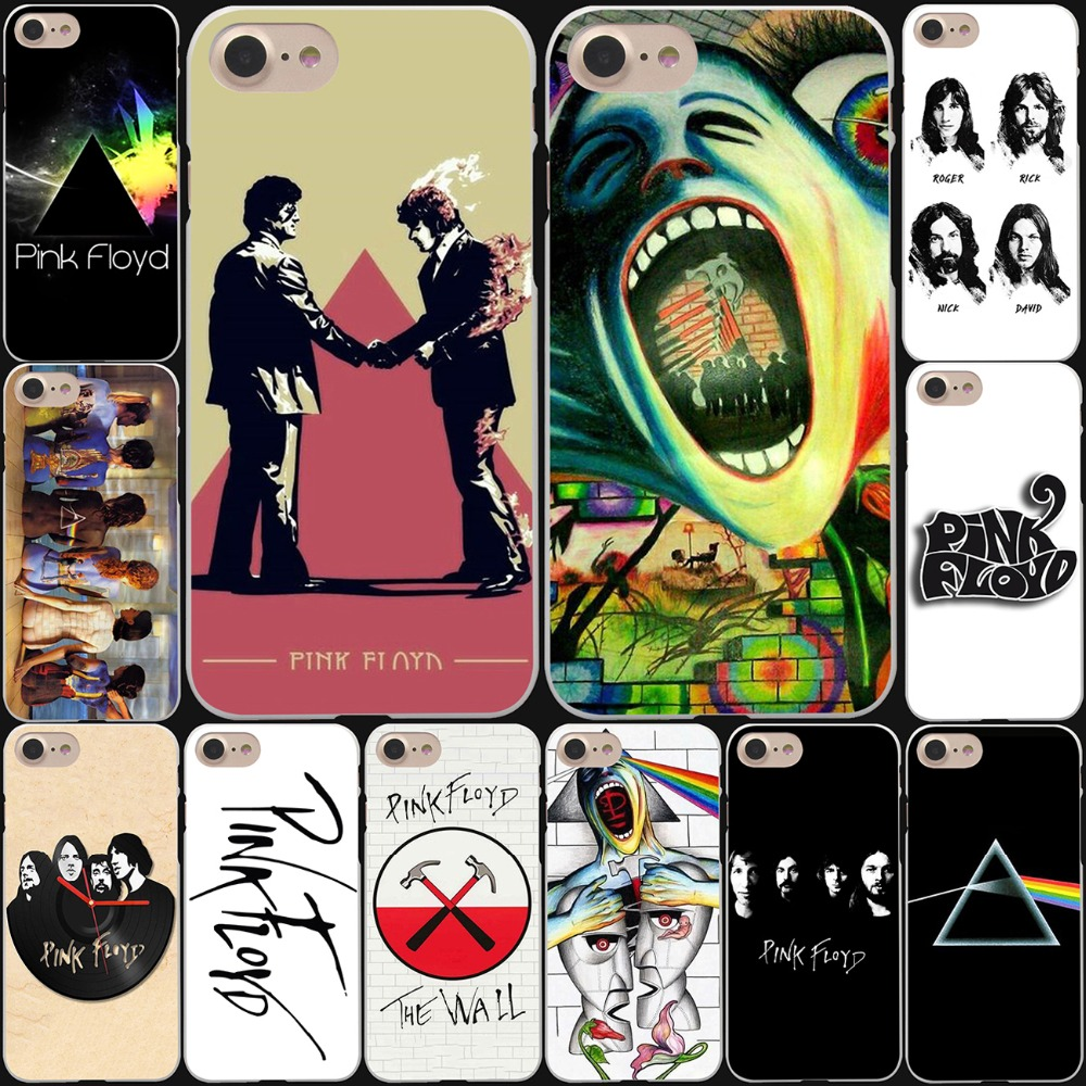 pink floyd the wall art Hard White Cover Case for iPhone 7 7 Plus 6 6S Plus 5 5S SE 4 4S