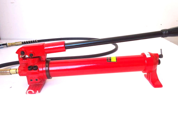 Hydraulic Hand  Pump CP-700 can work with crimping head, pressing head and cutting head thermo operated water valves can be used in food processing equipments biomass boilers and hydraulic systems