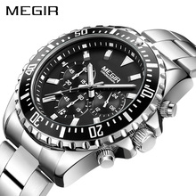 MEGIR Watch Men Fashion Sport Quartz Clock Mens