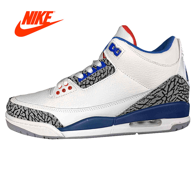 Original New Arrival Official NIKE Air Jordan 3 Retro Sport Men Basketball Shoes Comfortable Breathable Cushion Sneakers Sport intersport original new arrival official nike fly x men s basketball shoes sneakers mens sneakers ultra boost shoes breathable