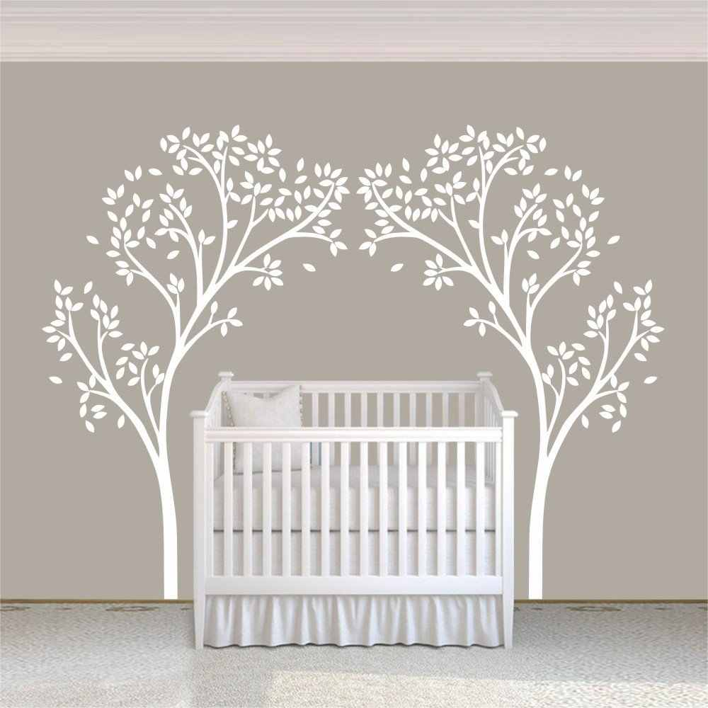 A12 Tree Canopy Portal Wall Decal Tree Wall Sticker Vinyl Nursery Home Decor Wall Graphic Home Art Living room Decoration