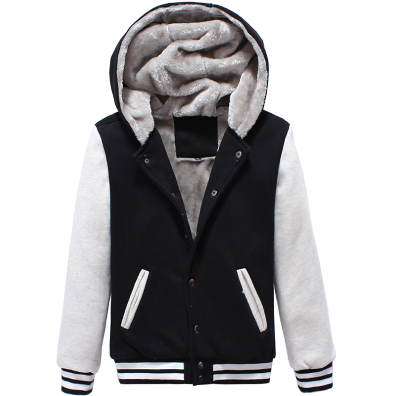 Winter Classic Hooded Baseball Jacket Men/Women 2017 Mens Fashion ...
