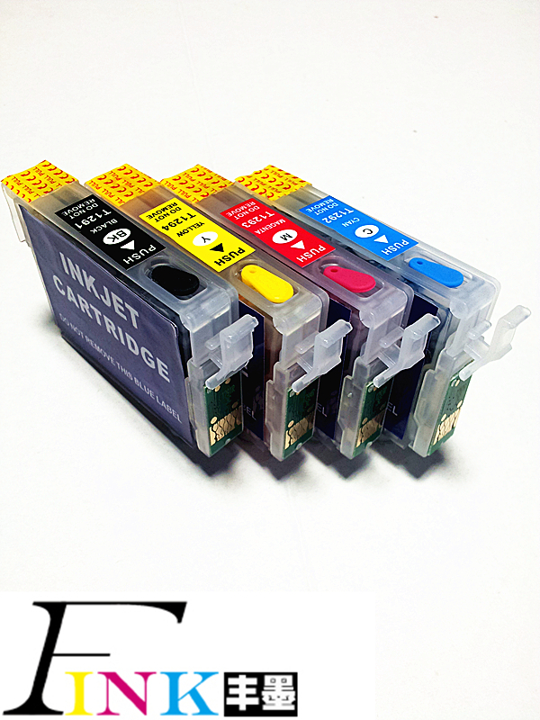 T1291 refillable ink cartridge for Epson Stylus SX230 ...