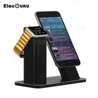 100% Gloednieuwe Mode Aluminium Standhouder Opladen Dock Laadstation Mount Base Voor Apple Horloge iPhone SE/5/5 s/6/6 S/PLUS