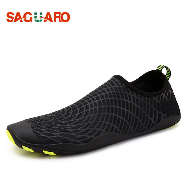 Men Women Swimming Water Aqua Shoes Walking Skin Shoes Beach Flat Soft  Seaside Shoes Diving Socks Surf Barefoot Lover Yoga Shoes 86218e051