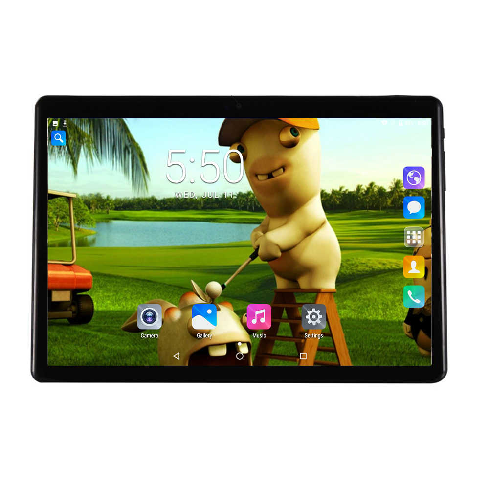 Original Octa Core 10 inch tablet pc 2.5D Glass 1280*800 IPS Screen 4GB RAM 32GB ROM Dual Camera Android Wifi Tablets 10''