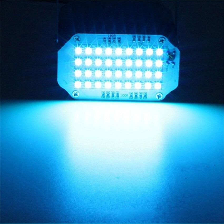 NDTUSMZ Waterproof 15W 110-240V 36 Led White/RGB LED Stage Light DJ Disco Strobe Flash Light EU/US Plug For Family Party KTV
