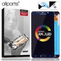 5.7'' Super AMOLED Оригинальный тачскрин дисплей экран для SAMSUNG Galaxy Note 5 сенсорный дисплей Оригинал LCD с тачскрином в рамке замена запчасти Note5 N920A N9200
