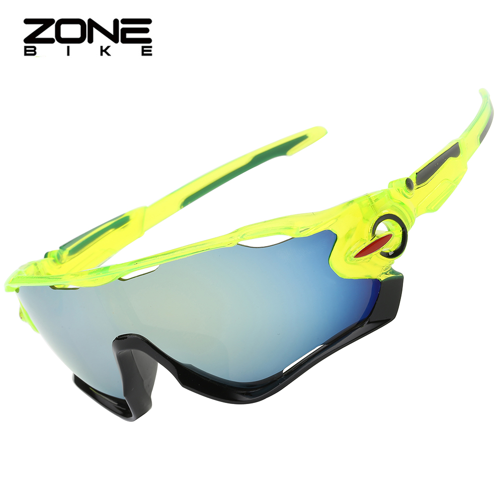 ZONEBIKE Oculos Ciclismo UV400 Goggles Cycling Sunglasses Bicycle Glasses Green Bicicleta Mountain Bike Sunglass Sports Eyewear