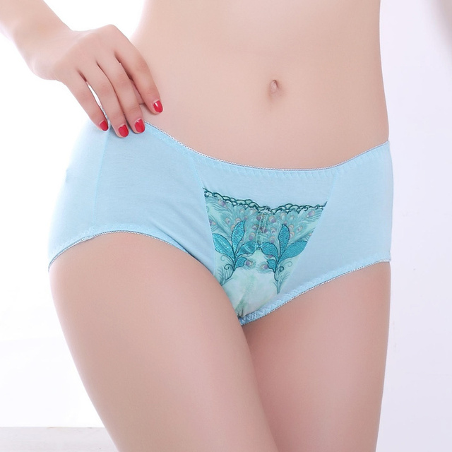 New Arrival 2017 Sexy Bra Set Push Up Plus Size C D E F Cup 80 85 90 Women Embroidery Ultra-thin Bra Peacock Blue Underwear Set
