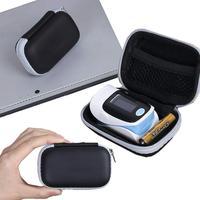 Twardy EVA Travel Oximeter Protecive Case Bag przenośny zamek etui ochronne Box na palca pulsoksymetr zdrowie przybory do pielęgnacji