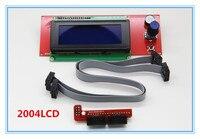 Freeshipping 1pcs 3D Printer 2004 LCD Reprap Smart Controller Reprap Ramps 1 4 2004LCD Control