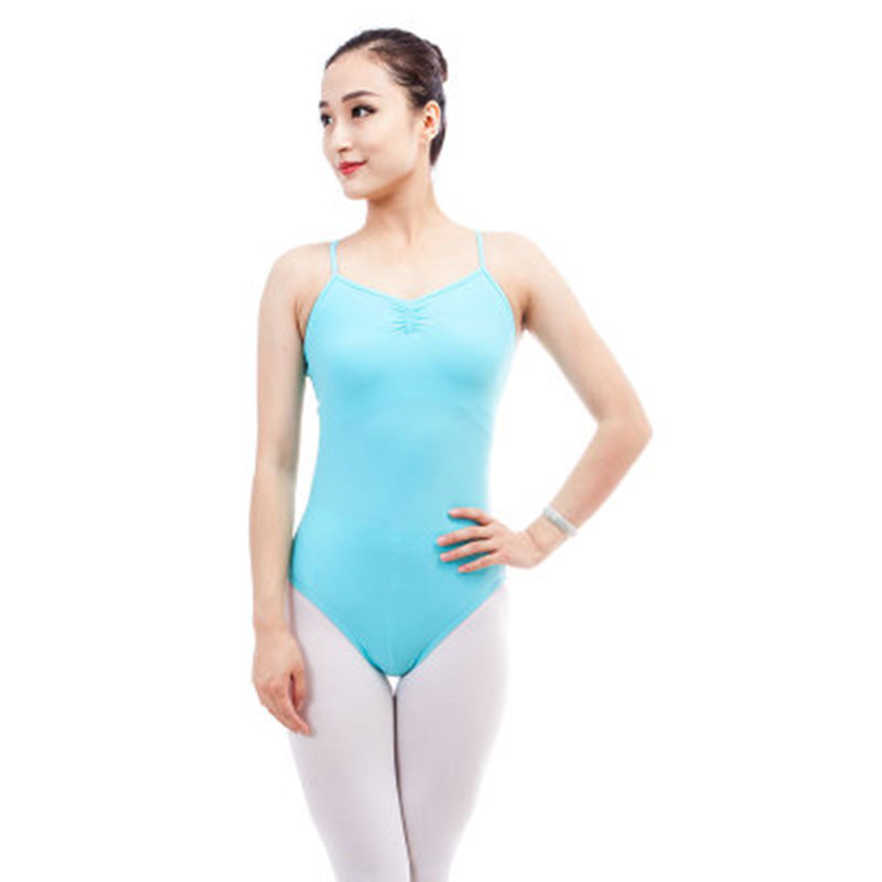 Adult Camisole Gymnastics Leotards Back Cross Bodysuit Sexy Women Ballerina  Girls Professional Ballet Leotard For Dance