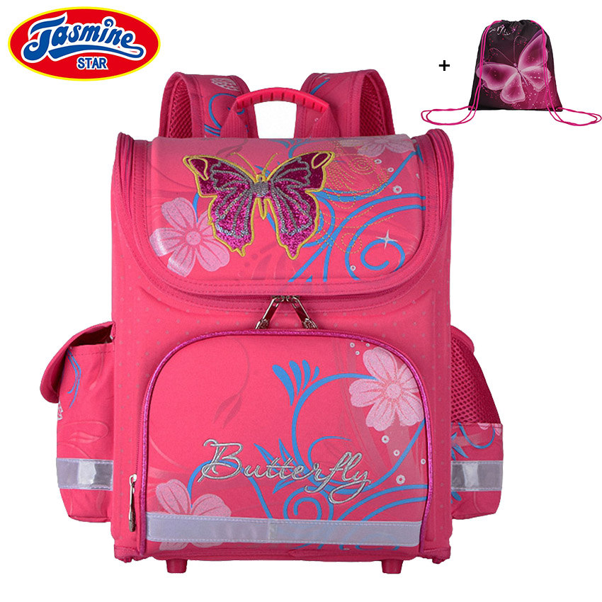 JASMINESTAR School Bags For Girls Cartoon Embroidery Childrens Backpack Orthopedic Anime School Backpack For Boys SchoolbagsJASMINESTAR School Bags For Girls Cartoon Embroidery Childrens Backpack Orthopedic Anime School Backpack For Boys Schoolbags