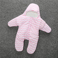 Мода 100% органический хлопок толстые звезды младенцы коляски постельные принадлежности ребенка зимой одеяло (вес 355 г)
