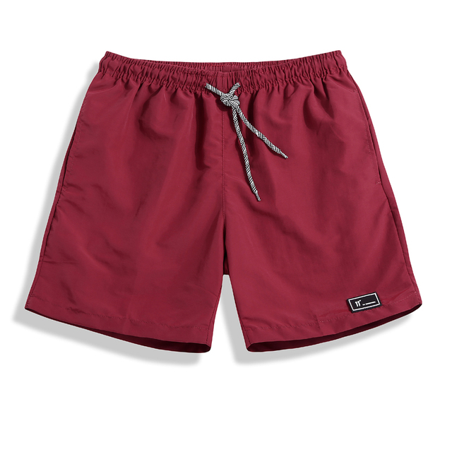 Beach Shorts for Men Solid Colors  2