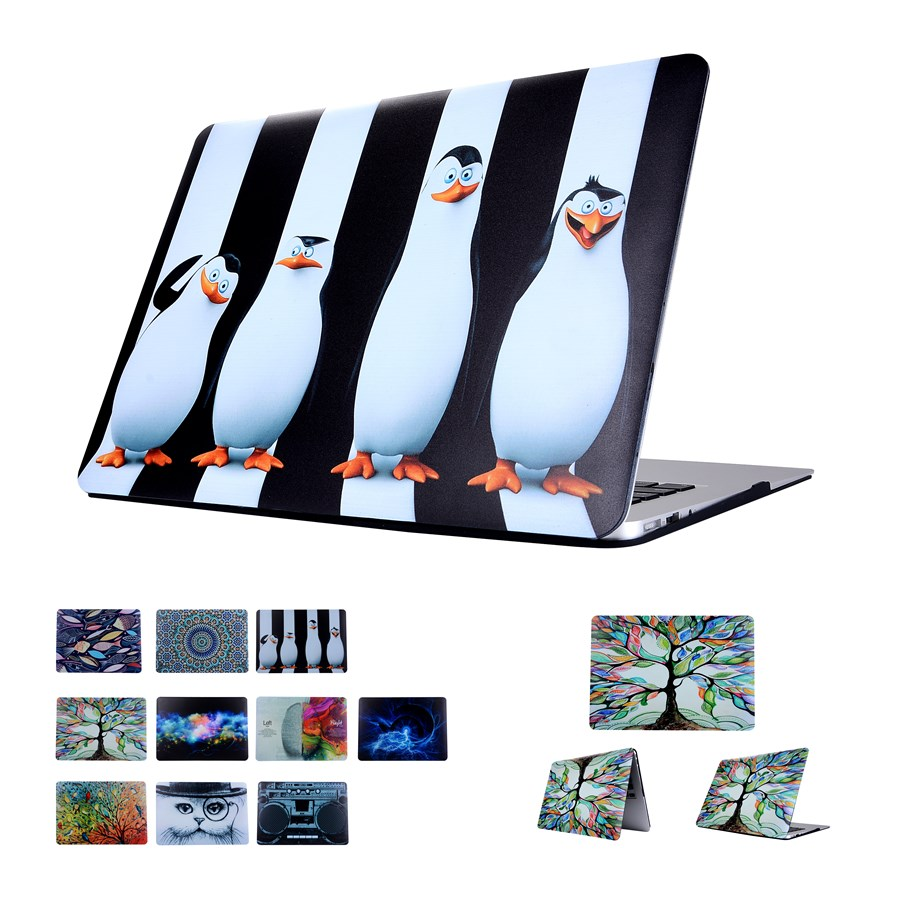 Fasion Hard Case Protector With Painting Cartoon Style For Macbook 12 Inch Air 11 13 Inch Pro 13 15 Inch Pro Retina 13 15 Inch