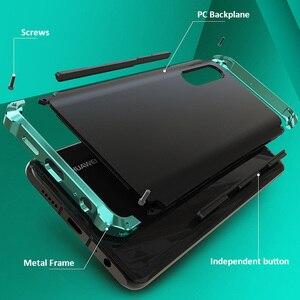 Image 3 - Pancerz aluminiowa metalowa obudowa do Huawei P40 Pro P30 obudowa z twardego plastiku hybrydowa, odporna na wstrząsy obudowa do telefonu Huawei P30 Pro