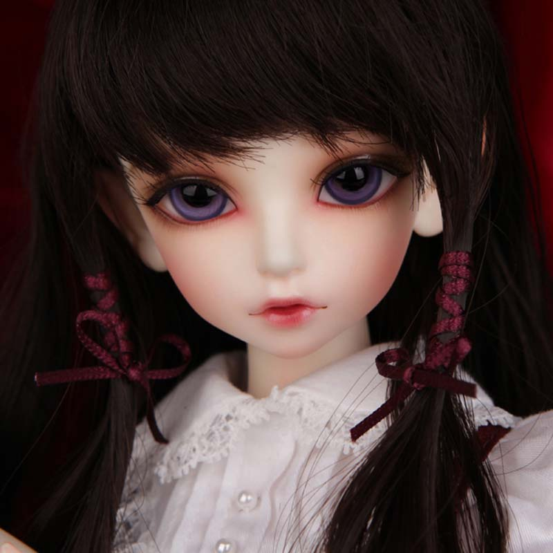 Newest Arrival 1/4 BJD doll BJD / SD Fashion Kid Delfs KIWs Model Resin Doll Makeup For Baby Girl Gift Free Shipping kinston bicycle girl pattern tpu case for google lg nexus 5 white black
