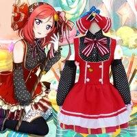 Japanese Anime Halloween Costumes Love Live School Idol Project Minami Kotori Princess Lolita Dress Maid Uniform
