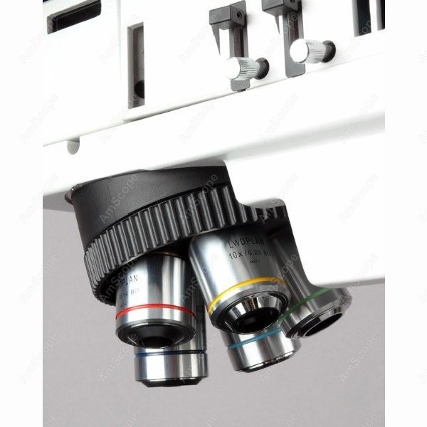 Metallurgical Microscope--AmScope Supplies 50X-500X Polarizing Darkfield Metallurgical Microscope with 3MP Digital Camera